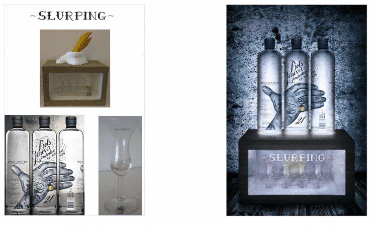 Slurping: Bildmontage